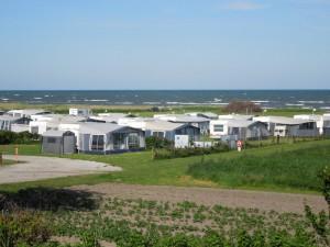 Camping med havudsigt