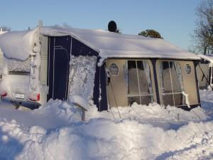 vintercamping i telt