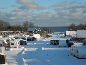 pladsen om vinteren